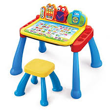 toy story activity table amazon com vtech touch and learn activity desk deluxe frustration