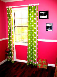 Lime Green Polka Dot Curtains Pink And Green Drapes For Windows Lime Green White And Pink