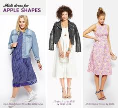 dresses for apple shape midi skirt for your type apple shapes the style canvas