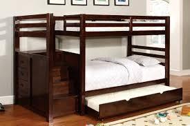 espresso twin twin bunk bed orange county furniture warehouse image 1