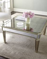 cheap mirrored coffee table amelie mirrored coffee table neiman marcus