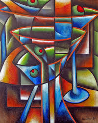martini glass acrylic painting libations prairie schooner
