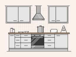 photos of kitchen interior modern kitchen interior design vector free