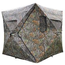 pop up ground hunting blind camouflage hub tent
