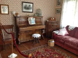 House And Home Furniture The Piano In This Gorgeous Front Parlor Of The Conductor U0027s House
