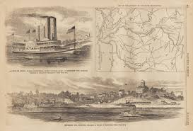 Map Of Missouri State by Civil War Prints Illustrations From Illustrated Newspapers From 1861