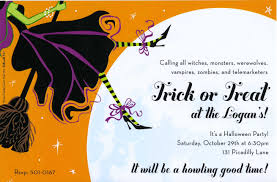 halloween invitations invitation clever wording