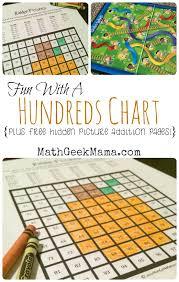 math hundreds chart brilliant ways to use a hundreds chart