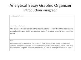 literature essays examples