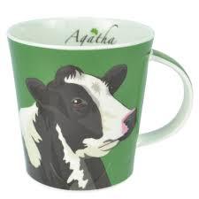 buy aga animal mug agatha the friesian cow aga cook shop