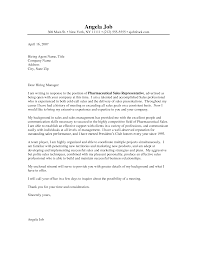 pharmaceutical sales representative cover letter examples chainimage