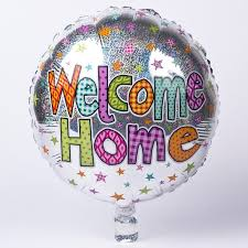 welcome home balloon bouquet silver welcome home foil helium balloon only 2 49