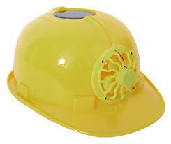 hat with fan built in solar energy safety helmet hard ventilate hat cap cool fan