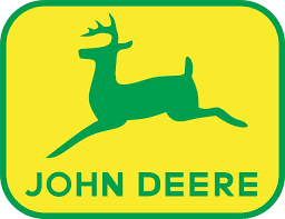 4 sizes john deere logo decal wall sticker home decor art tractor