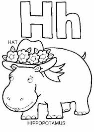 preschool letter h coloring sheets get coloring pages