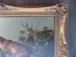 fox top right corner detail before art restoration services