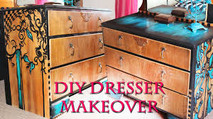 Hand Painted Furniture by Hand Painted Furniture Makeover Emy Meowski Youtube