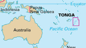 tonga map pacific island nation of tonga hit by 6 5 earthquake wjla