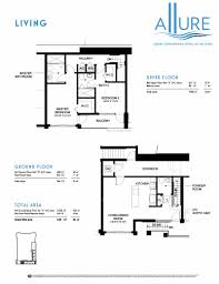 the living amazing floor plan