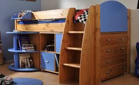 Stompa Rondo European Single Mid Sleeper Bed With Storage - Mid sleeper bunk bed