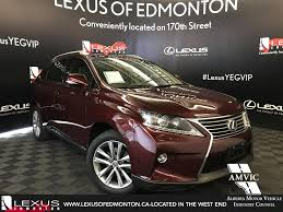 lexus rx 350 used edmonton pre owned 2015 lexus rx 350 sportdesign edition 4 door sport