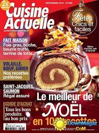 cuisine actuelle spécial noël décembre 2014 no 288