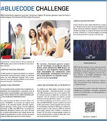 Challenge La Vanguardia Llega Bluecode Challenge La Hackaton Digital De Ibm Trabajo
