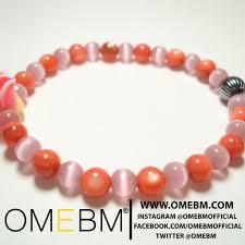 pink glass bead bracelet images Pink flower bracelet jewelry omebm omebm be expressive be jpg
