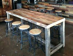 bar height work table counter height work table kitchen small counter height tables modern