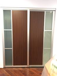 Sliding Wooden Closet Doors Sliding Wood Closet Doors S Installing Wooden Door Hardware Fix