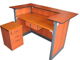 Mobile Reception Desk Soho Cyprus Reception Desk W Pedestal Adn Center Drawer