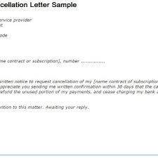 Notice Of Termination Of Employment Template cancel letter format image collections letter samples format