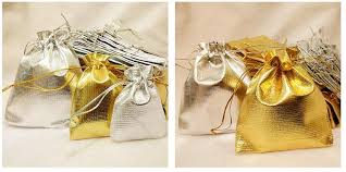 sachet bags 2017 gift bag sachet bags of gold and silver jewelry and silver