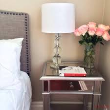 mirrored end table set nightstand set mirrored end tables nightstands tv stand side table