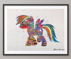 Home Decor Wall Paintings Online Get Cheap Rainbow Wall Painting Aliexpress Com Alibaba Group