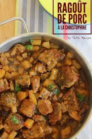 comment cuisiner les christophines recette du ragoût de porc à la christophine selon tatie maryse