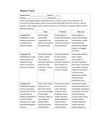 elementary progress report template 30 real report card templates homeschool high school