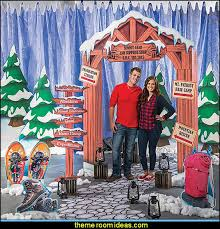 Winter Decorations For Parties - decorating theme bedrooms maries manor penguin bedrooms polar