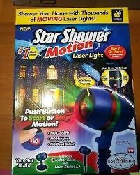 motion laser light projector star shower as seen on tv motion laser lights star projector 1 star