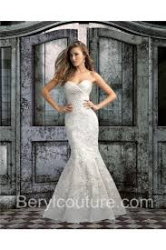 wedding dress ruching mermaid sweetheart ruched satin lace wedding dress with buttons
