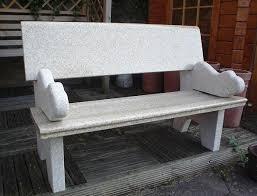 hayworth granite garden bench bench garden