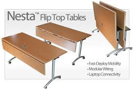 Modular Conference Table System Nesta Flip Top Conference Tables Mobile Tables For