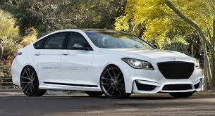 hyundai genesis 5 0 v8 hyundai genesis r spec v8 design study for high po luxury sedan