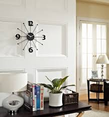 unique design decorative wall clocks for living room clever long