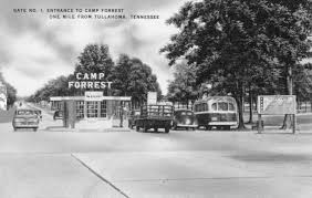 author documents historic significance of camp forrest u003e arnold