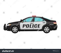 police car police car side view isolated on stock vector 562979557 shutterstock