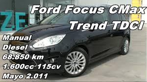 100 c max manual used ford c max mpv 1 6 tdci titanium 5dr