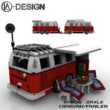 online veilinghuis catawiki caravan voor lego 10220 volkswagen t1