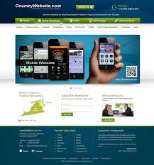 Business Web Design Homepage by Banr Home Page Shoppackmean Online