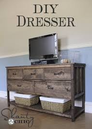 tv stands for bedroom dressers pottery barn inspired diy dresser bedrooms dresser and pottery